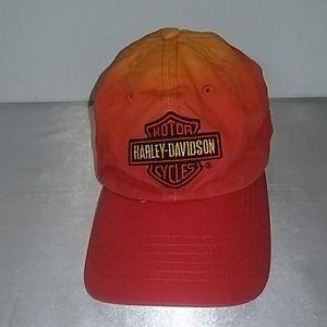 Harley Davidson Flame Orange Youth size Cap
